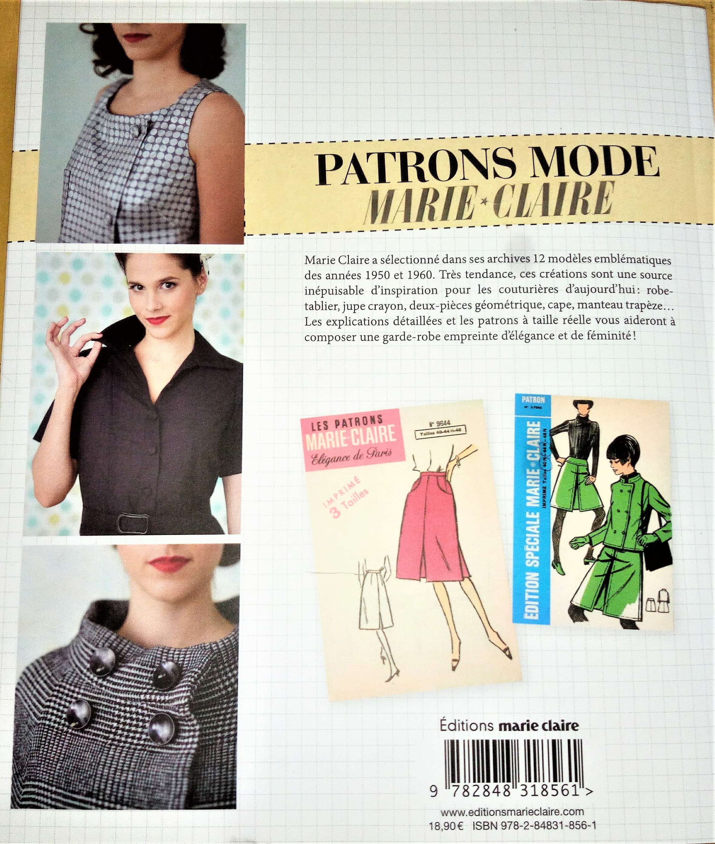 Patrons Mode Marie-Claire\